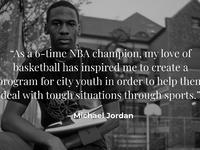 Graphic tactics michael jordan