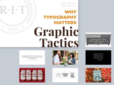 Graphic Tactics Class Slides
