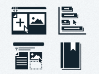 Publishing Platform Icons