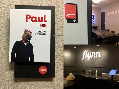 Flynn Agency Rebranding branding typography icons logo