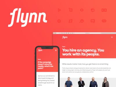 Flynn Agency Rebranding