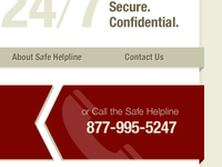 or Call the Safe Helpline