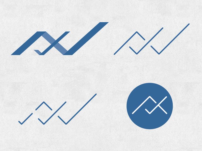 Check These Logos logo blue