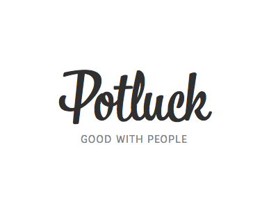 Potluck typekit bree web bistro script web