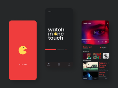 Watch in one Touch - 'CINEA' ui