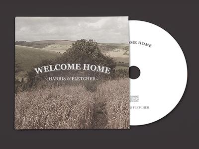 Welcome Home - Album Artwork welcome home album artwork cd mockup cool vintage photo effect fun jaye retro grunge