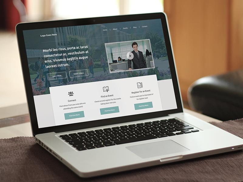 Home Page / WIP branding web website design minimal clean company students college jaye macbook pro mockup
