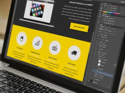 Banana Theme... theme dark banana yellow design web minimal clean jaye