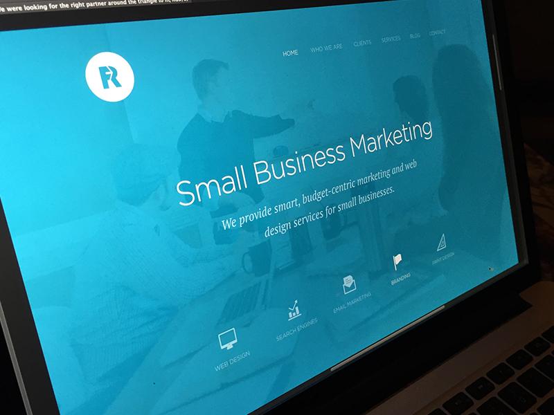 New Things Brewing marketing rff modern minimal clean web design website site