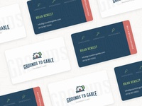 Grounds to Gable Business Cards