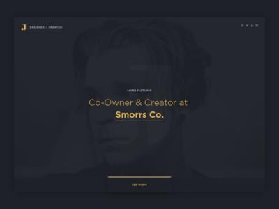 Rebranding Continues jaye smorrs rebrand personal clean minimal design website