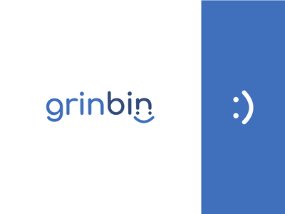 GrinBin Branding presmult grinch minimal modern clean design goodies dentist ortho box bin smile grin