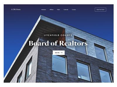 Board of Realtors Site WIP presmult building house clean minimal design property realtor realestate