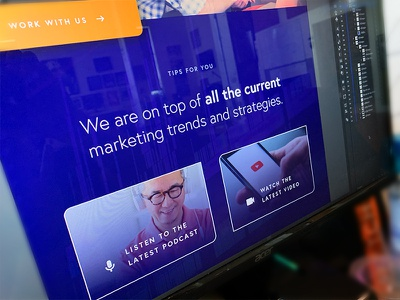 More Email Newsletter Design tips youtube podcast marketing ortho blue web ui minimal design clean newsletter email