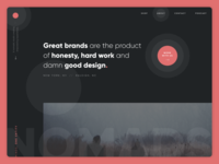 Agency Home Page Design