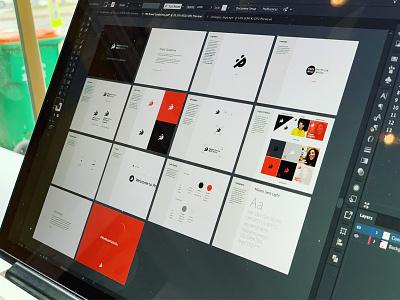 PM Brand Guidelines brand presmult guidelines branding logo modern web minimal clean design