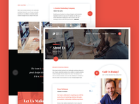 About Page - Layout