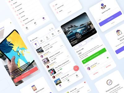 A Redefined Craigslist Application Concept app design application ui ui iphone app android app user interface graphic design ios app mobile app ui design