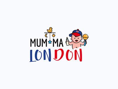 Mumma London Logo graphic design graphics design brand identity brand design branding logo