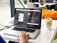 Magnet App Landing Page