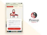 Massage Express - Logo & iPhone App