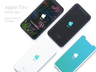 Apple TV Plus iPhone App (Concept) mobile app iphone app user interface ios app ui design