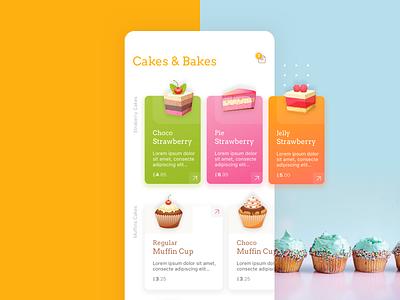 CakeShop application design application ui ui iphone app android app iphone application user interface mobile app ios app ui design