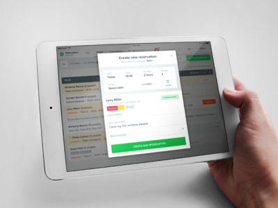 Create reservation form update restu reservation responsive food booking table reservation system