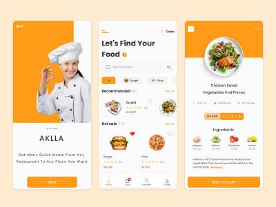 Food Delivery / Mobile App illustration vector logo ui ux design typography ui branding app design ui design