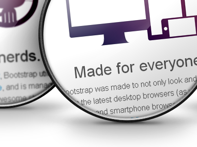 Bootstrap features