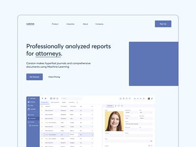 Landing page concept for professional web tool minimalism law freelance landingpage exploration ayushsoni ayush professional minimal website