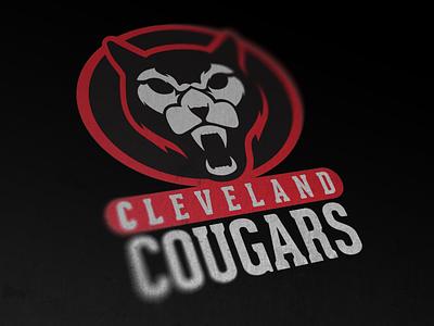 Cleveland Cougars cougars cleveland sports logo