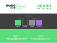 Hands Off My Financial Data Brand Guidelines