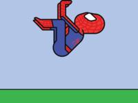 Spiderman Yoga: Crane