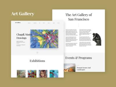 Art Gallery WordPress Theme - Arte