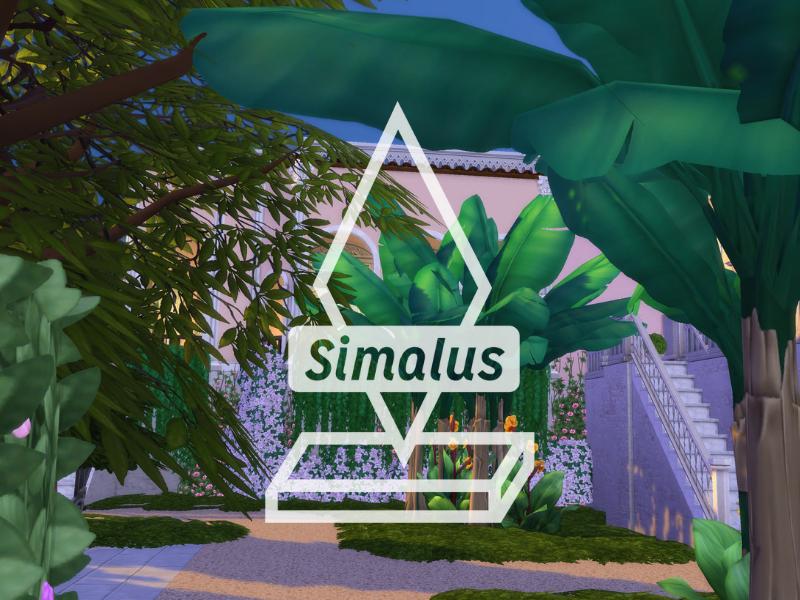 Simalus Logo logo sims geometric geometic design type gaming