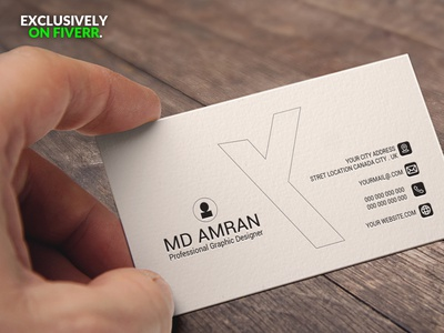 professional and minimal business card with a free logo brand minimalist business card design businesscard minimal minimal business card creative business cards logo luxury business card creative business card design branding