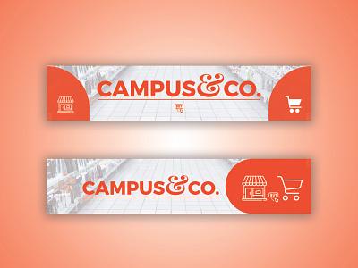 Banner Design for CAMPUS&CO md amran illustration vector mdamran graphic design design bannerdesigner amran5r brand branding banners design banner design banner