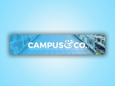 Banner Design for CAMPUS&CO md amran vector illustration mdamran design graphic design amran5r graphic designer facebook post facebook ads banner marketing branding bannerdesigner bannerdesign banner