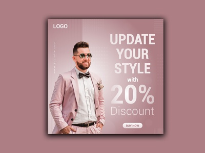 Social Media Ads/Post Design for Clothing Shop illustration branding design graphic design facebook post design facebook ads design social media
