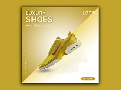 Social Media Ads/Post Design for Shoes Shop minimal graphic design design branding facebook post design facebook ads design social media
