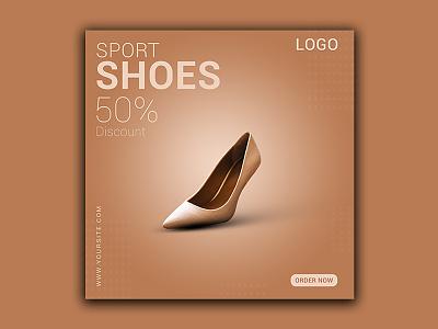 Social Media Ads/Post Design for Shoes Shop graphic design design branding facebook post design facebook ads design social media