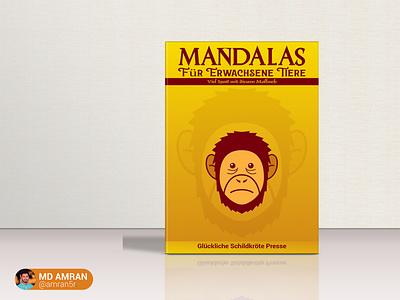 Book Cover design Mandalas md amran mdamran minimal amran5r graphic design design branding book cover book cover design booking books book book art book design