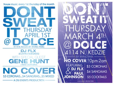 Dont Sweat It Thursdays