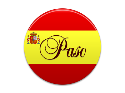 Paso Android Icon Design football espania logo android flag icon ui