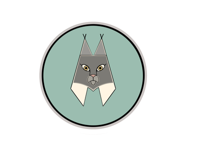 Lynx lynx patch lynx logo lynx art good vibes beginner artist redbubble logo digital art wildlife kawaii adorable rawr cute