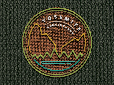 Dribbble Challenge — Yosemite Conservancy Logo
