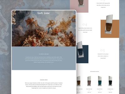 Product Relaunch grid css website animation html branding
