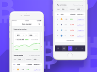 Cryptocurrency tracker — iOS app 📱