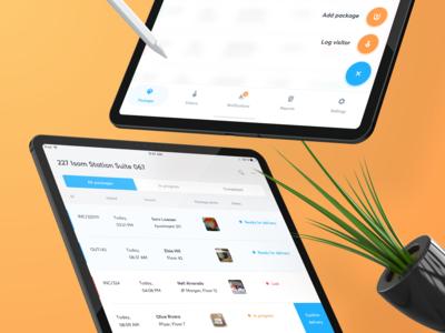 📦 Package iPad App — UI details